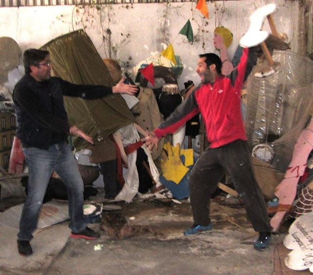 Με πολύ κέφι ξεκίνησαν οι προετοιμασίες για το Λυγουριάτικο Καρναβάλι