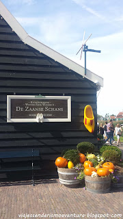 Tienda/museo de zuecos de madera en Zaanse Schans