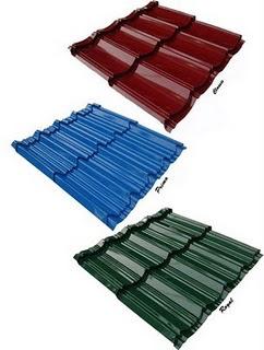 jarak reng baja ringan atap multiroof genteng metal multi roof | surya
