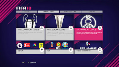 PES 2013 Graphic Menu FIFA 18