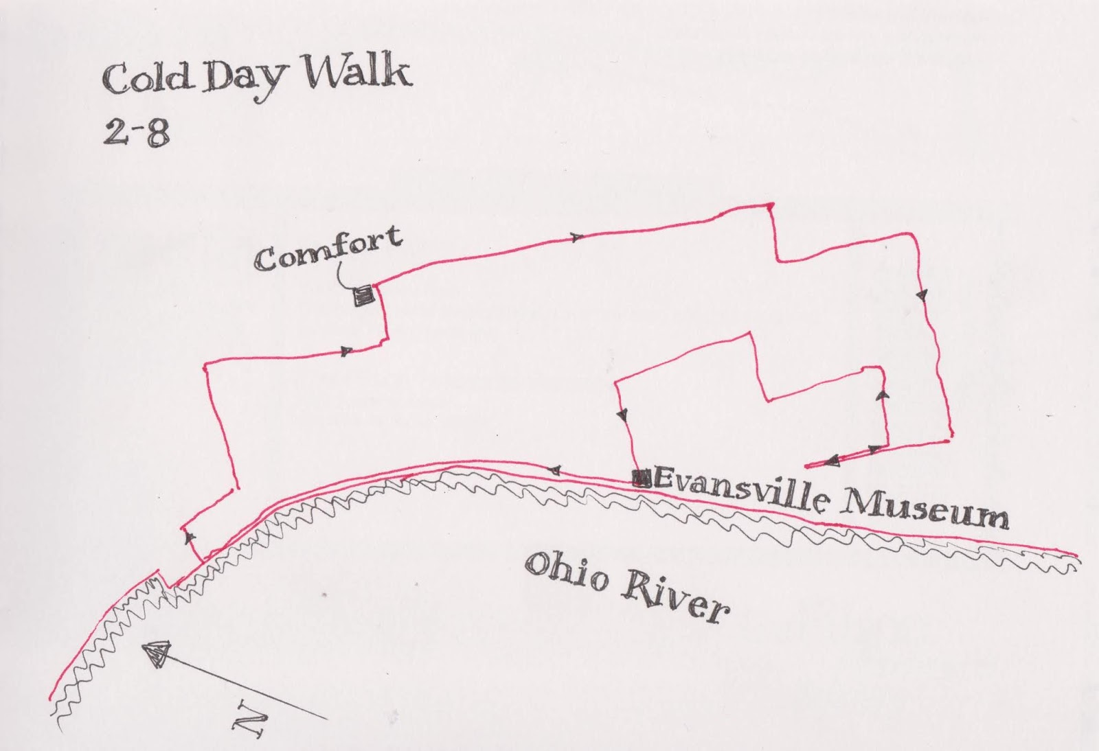 frequently i ll map my travels of the day or draw the neighborhoods where i lived as a kid
