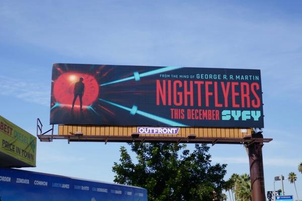 Nightflyers series launch billboard