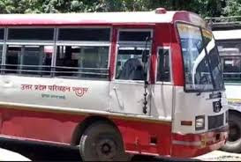 No Bus Service For Lucknow Banaras Rout Uttar Pradesh