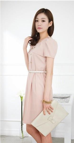 model baju dress korea