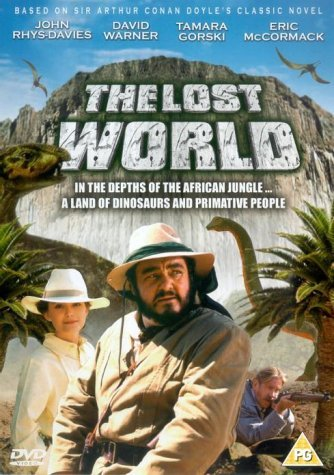 Poster Of The Lost World 1992 English 720p DVDRip Full Movie Download