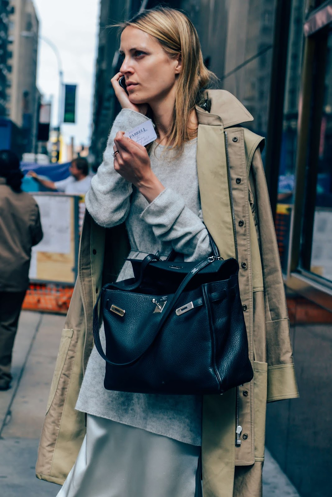 An Incredibly Chic Way to Wear Layers for Fall — Vanessa Traina Street Style