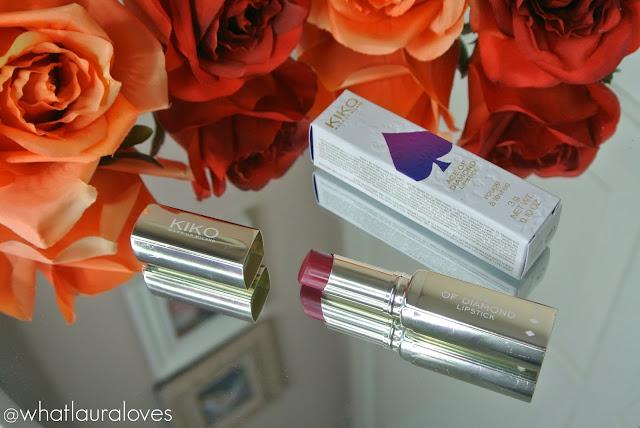 Kiko Ace of Diamond Lipstick Refined Burgundy