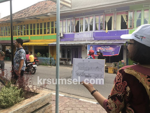 Disbudpar Provinisi Kunjungan Kawasan Kota Lama Kayuagung