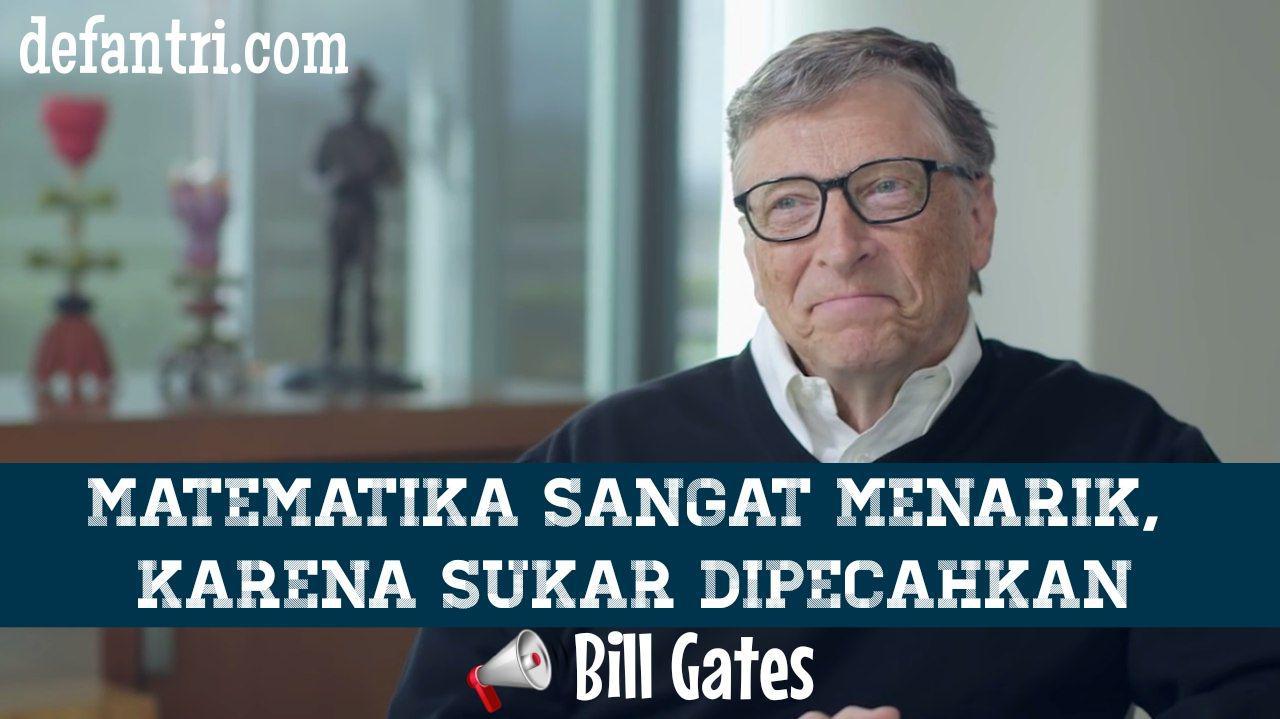 cita Asli Bill Gates Adalah Pengajar Matematika Sebelum Jadi Miliarder, Ternyata Cita-cita Asli Bill Gates Adalah Pengajar Matematika