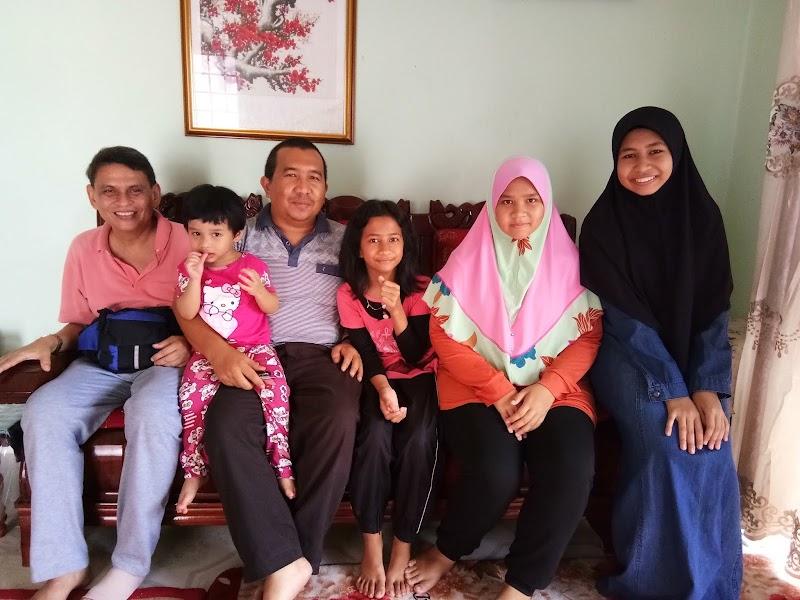 Sahabat dari Singapura Datang Beraya di Kelantan