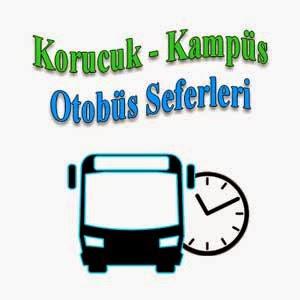 Korucuk - Kampüs Otobüs Seferleri