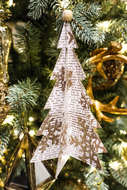 Canadian Tire Christmas Decor Inspiration Gold Tree Ornaments