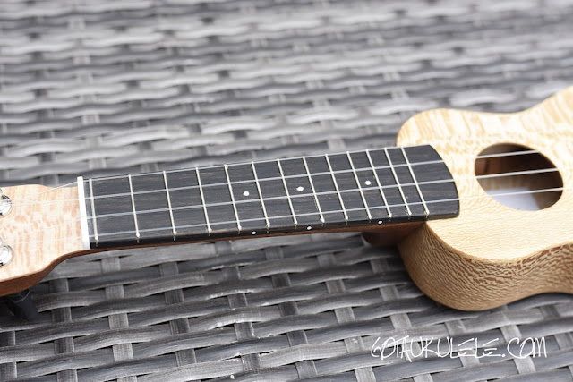 Andy's Ukuleles Piccolo fingerboard