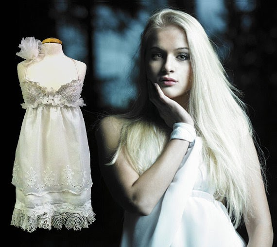 Wedding Gowns For Babies: Chicboutique: BABY DOLL BRIDE