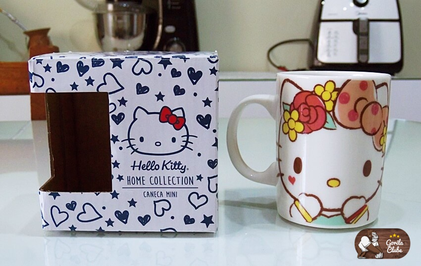Mini Caneca Hello Kitty