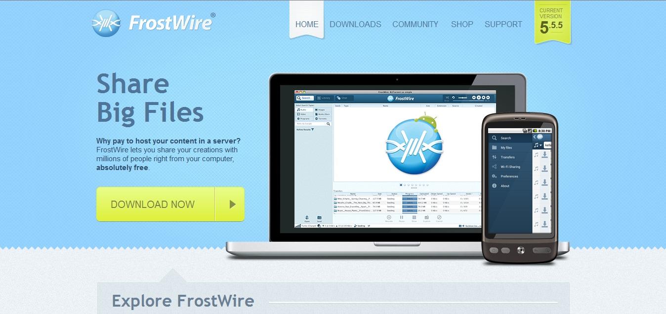 frostwire 5.5.5