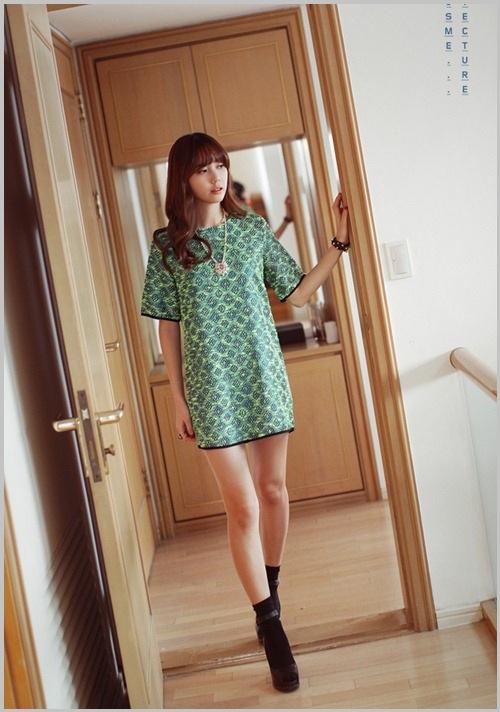 Đầm, váy dáng suông thả eo 6