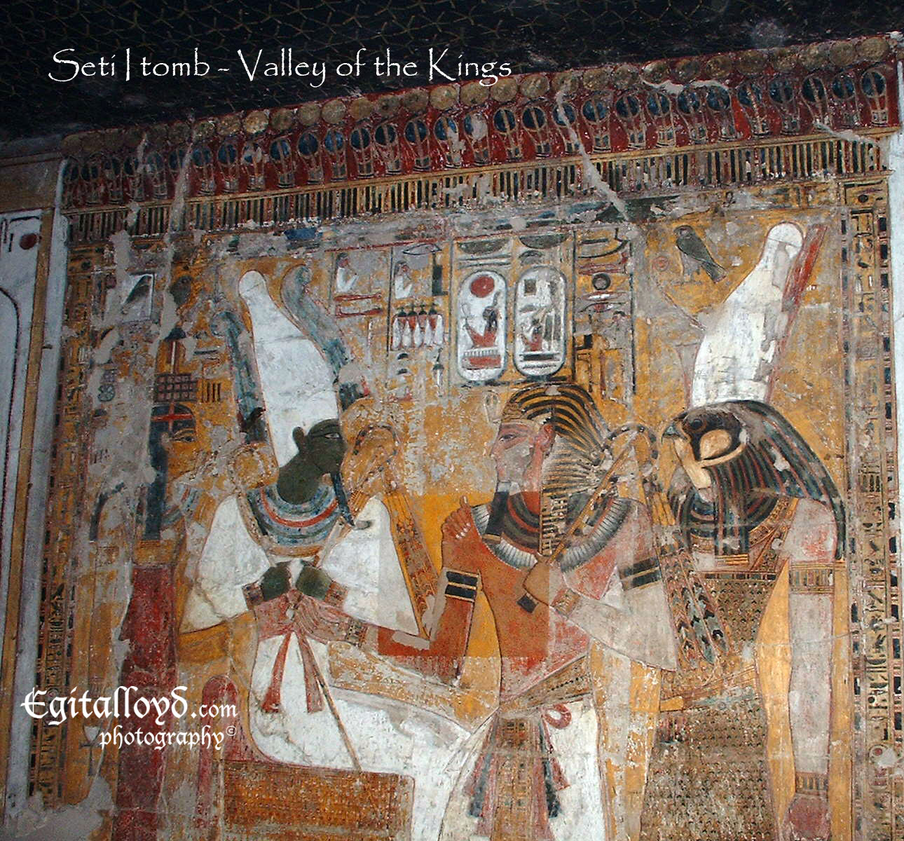 Egitalloyd Travel Egypt: KING SETI I: Father & Son of Ramesses
