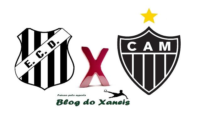 Democrata GV x Atlético-MG    Campeonato Mineiro   Sab. 25/02/2017  Mamudão , 16:30