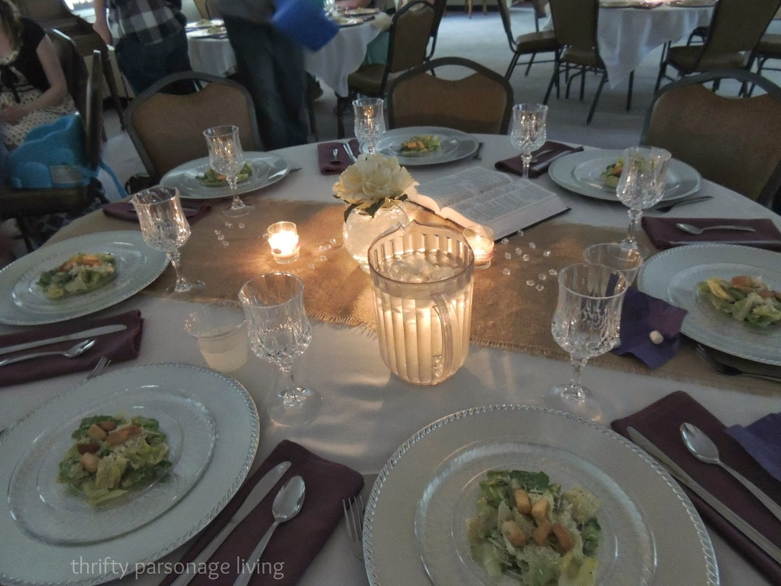 Thrifty Parsonage Living: DIY REHEARSAL DINNER ON A BUDGET