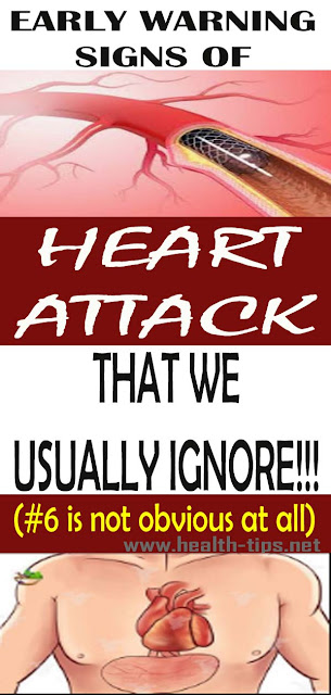 Be Careful: Your Body Alerts These 6 Symptoms Before a Heart Attack#NATURALREMEDIES