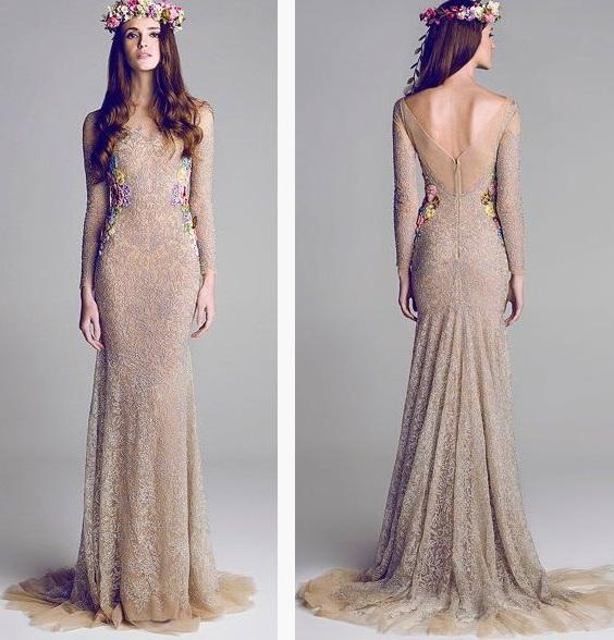 платье в стиле бохо фото