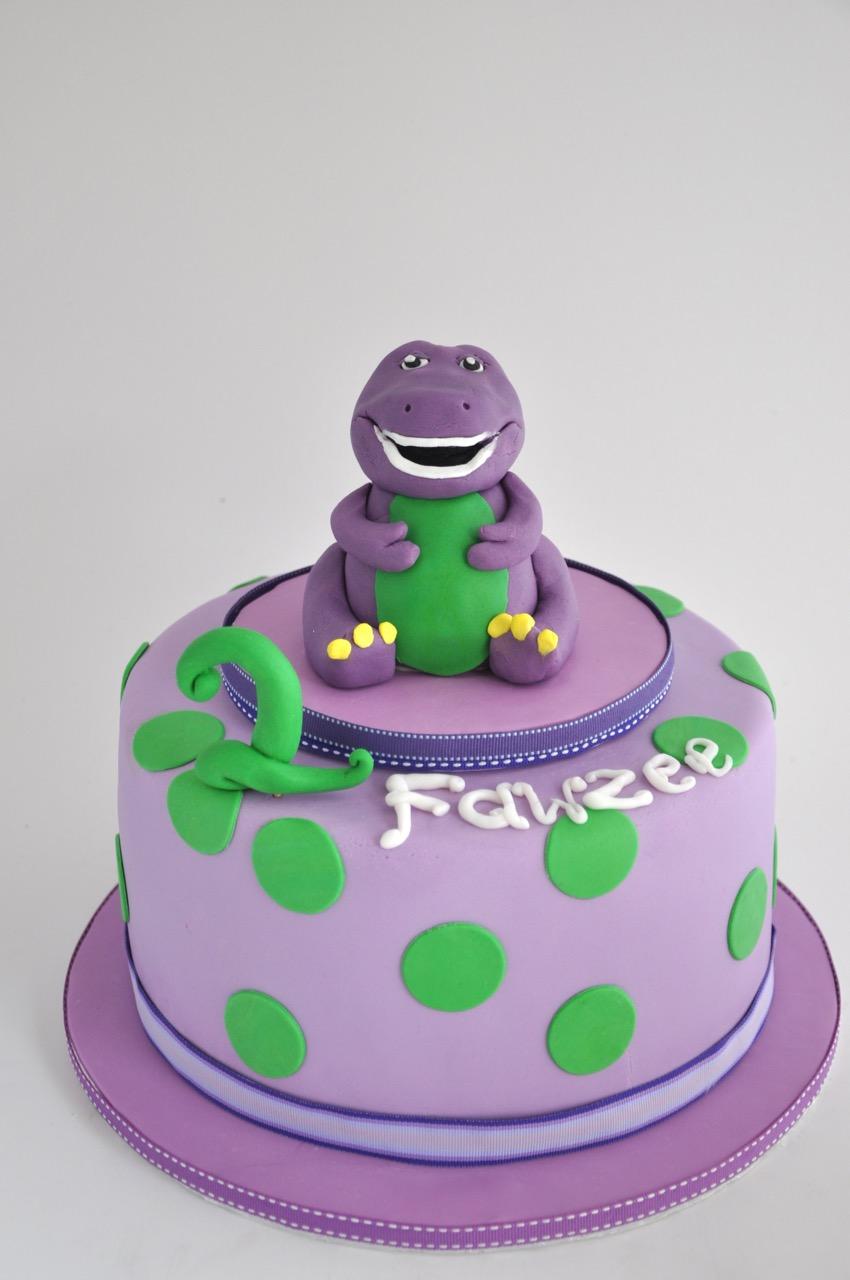 barney cake pops - photo #34