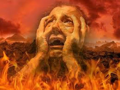 demon in Lake of Fire