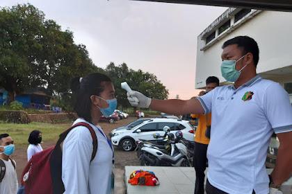Biro SDM Polda Sulsel terapkan sistem penilaian One Day Service pada Tes Kesamaptaan Jasmani dan Antropometri terhadap Peserta Bakomsus Perawat dan Bidan Polri T.A. 2020