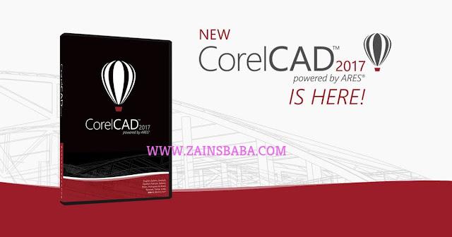 CorelCAD 2017.5 macOS-www.zainsbaba.com
