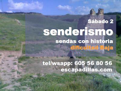 Senderismo, historia y naturaleza en Alcalá de Henares, con el grupo de senderismo - escapadillas.com