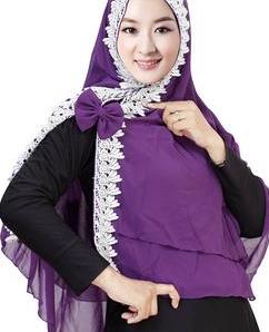contoh model jilbab syria