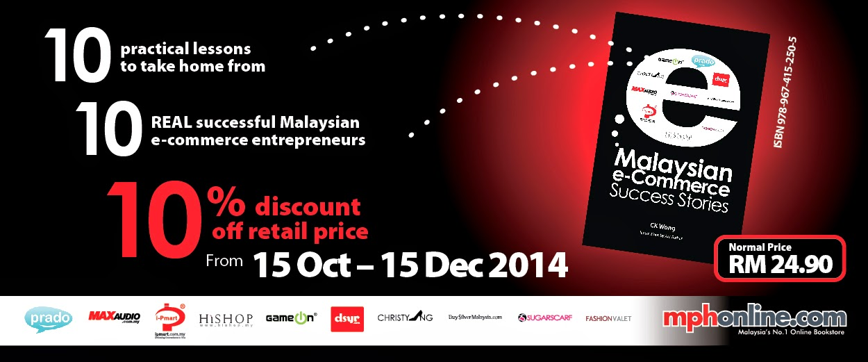 Buy Malaysian e-Commerce Success Stories Book