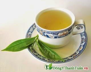 Thuốc mát gan giải độc từ trà