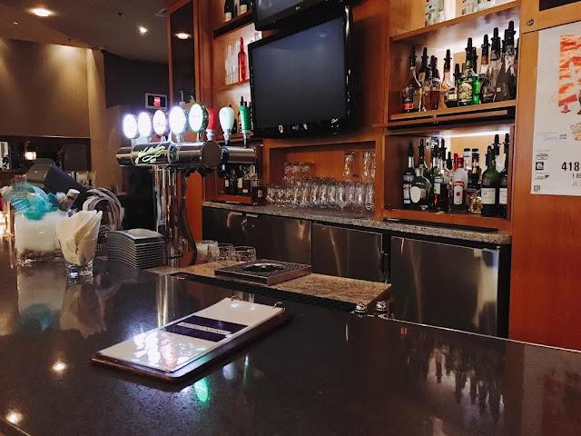 Hilton Québec City bar