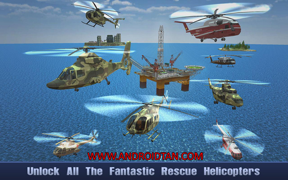 Offshore Oil Helicopter Cargo Mod Apk Download