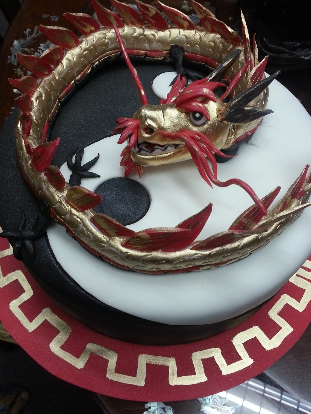 The Sensational Cakes Chinese Dragon 3d Cake Singapore