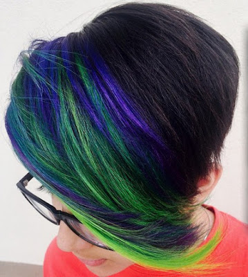 Green and Blue Streaks