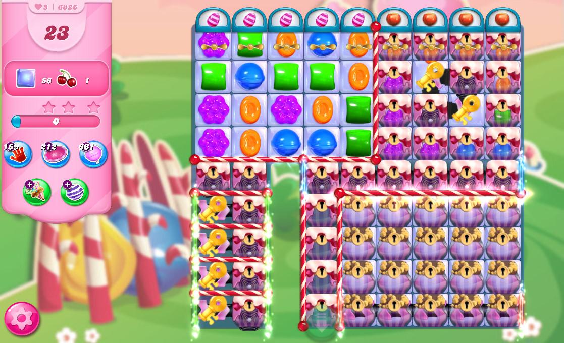 Candy Crush Saga level 6862