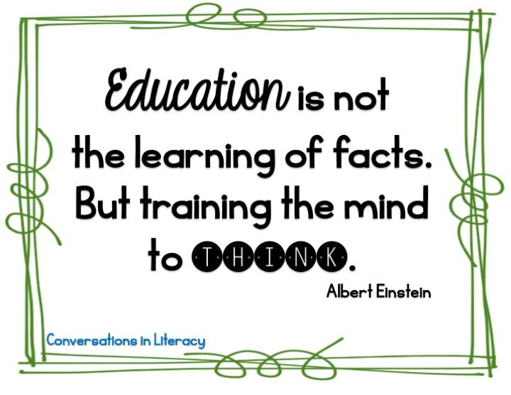 Conversations In Literacy: 5 Critical Thinking Activities