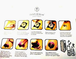 tatuajes, kit, Jinny Rainbow, estetica, belleza, ideas útiles, tiendas