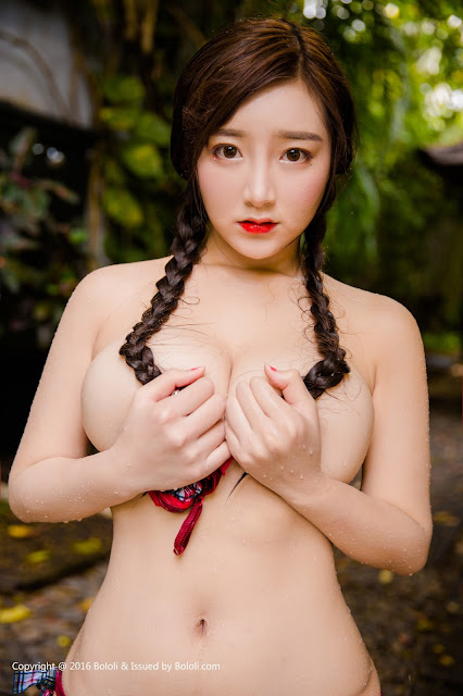 Hot girls Beauty Asian Girls sexy body model Mang Guo 10