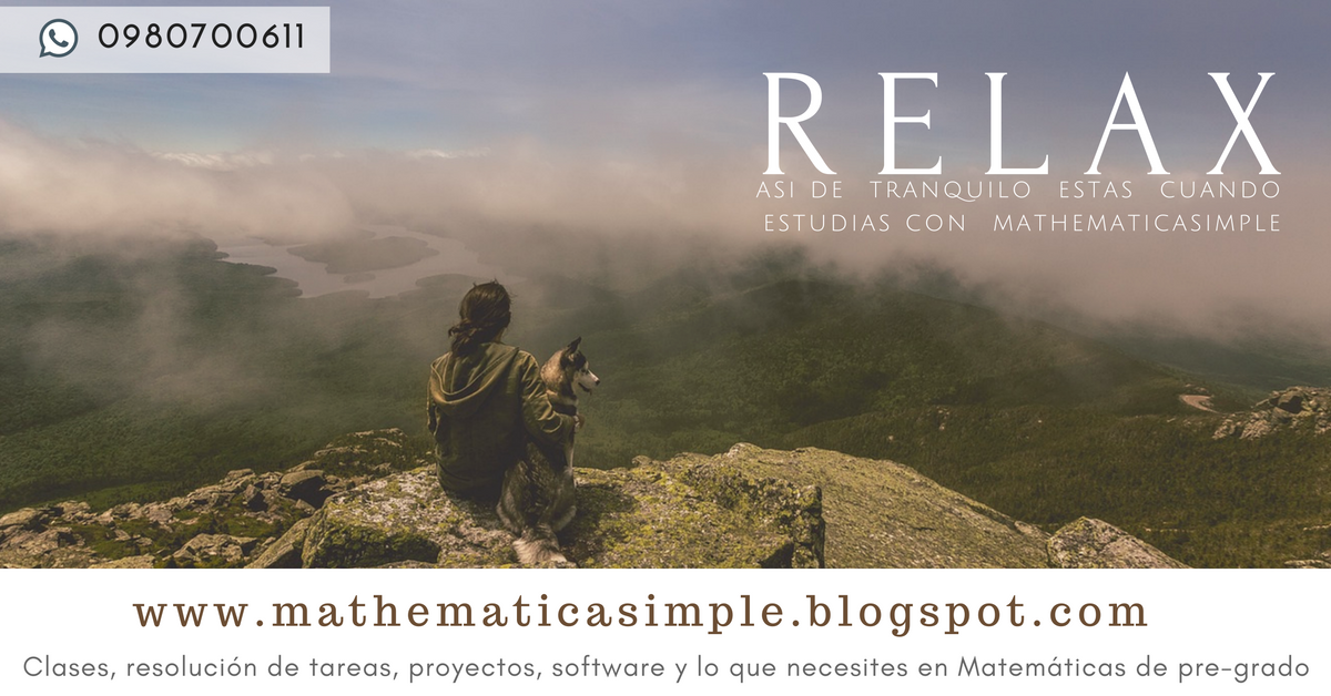 Clases de matemáticas - Guayaquil - Ecuador