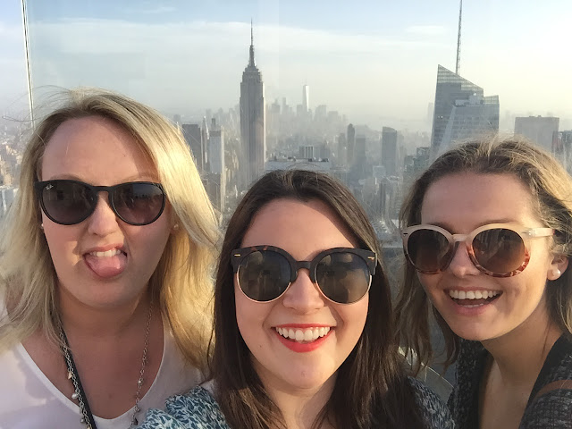 NYC tourist travel guide top of the rock rate student
