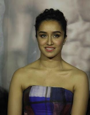 Shraddha Kapoor at Baaghi Trailer Launch photos