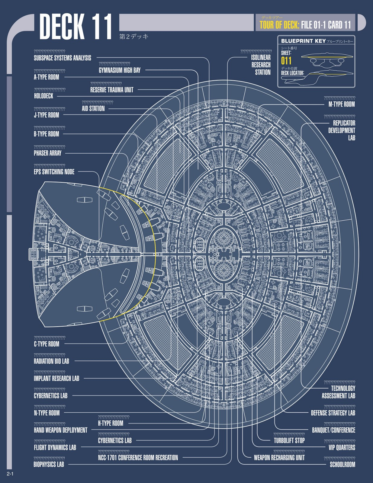 The trek collective build the enterprise issue by issue for Deck blueprints