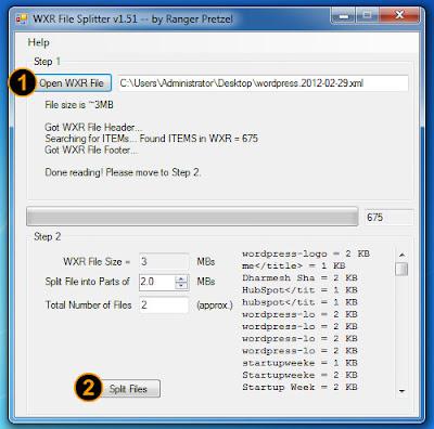 File XML Ukuran Besar