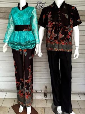 Kebaya Batik Couple Terbaru