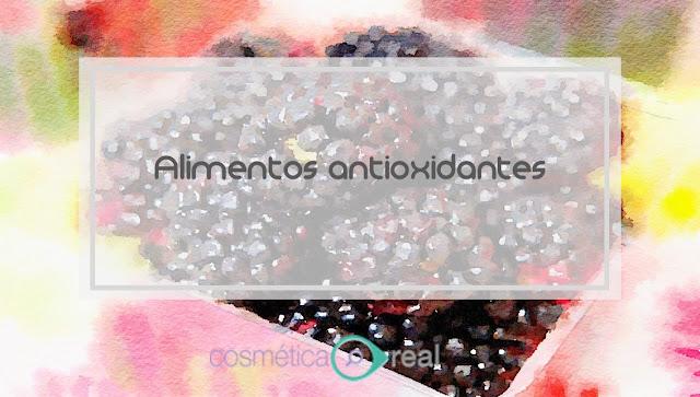 La belleza esta en el interior: Alimentos antioxidantes
