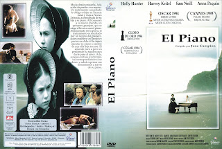 Carátula dvd: El piano (1993) The Piano